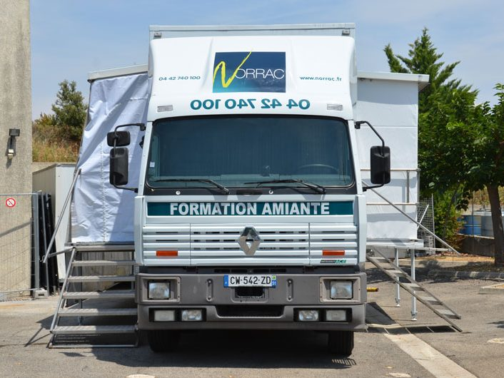 Camion amiante formation Norrac