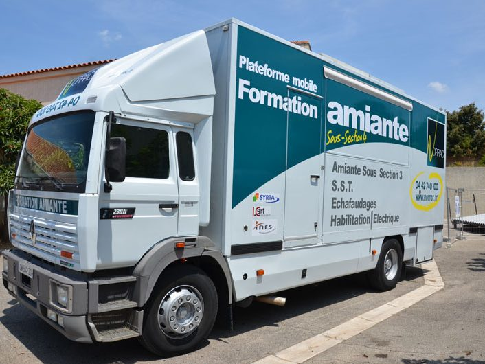 camion formation amiante Norrac